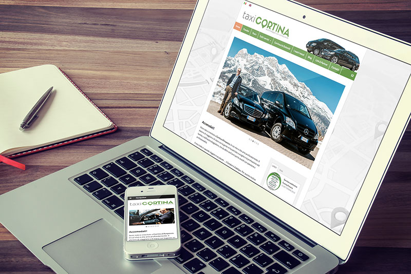 il nuovo sito Taxi Cortina