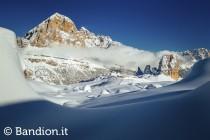 Le piste di sci del comprensorio Lagazuoi 5 Torri  - www.bandion.it